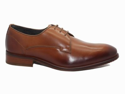Chaussures derby en cuir marron Teddy